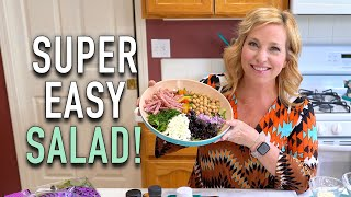 Mediterranean Chopped Salad - CruiseTipsTV Kitchen