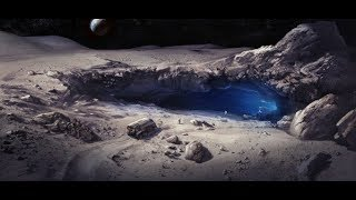 Discovery Of A  Huge Cavern Beneath The Moon Surface, It Could Be An  Extraterrestrial Base