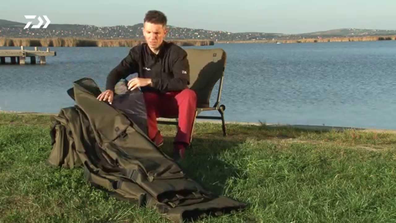 Daiwa BLACK WIDOW CARP CHAIR bojlis szék