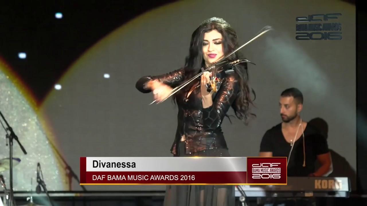 ديفانيسا - داف باما ميوزيك اوردز Divanessa Best Female Violinist in The  Middle East