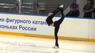 Юлия Липницкая. Открытый прокат в Сочи. Сезон 2015/2016.