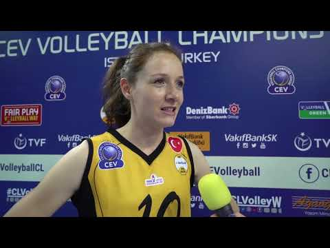 Post match reactions from VakifBank ISTANBUL and Minchanka MINSK