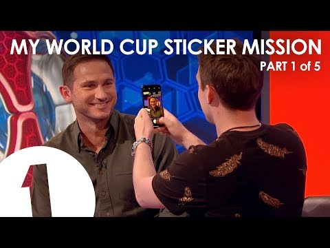 Need: Frank Lampard – My World Cup Sticker Mission Part 1