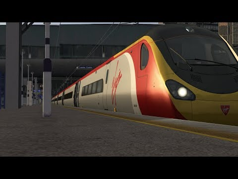 Train Simulator 2017: Class 390 Euston-Birmingham New Street