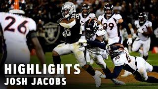 Josh Jacobs highlights: Best plays from Week 1 vs. Denver | Raiders