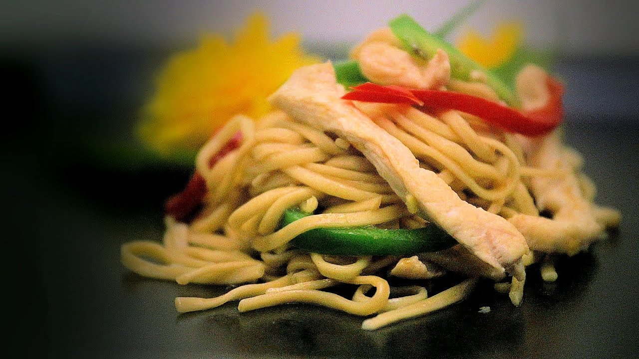Download Chicken Chow Mein Stir-Fry (Chinese Style Cooking Recipe)