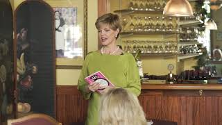 Donna Arp Weitzman speaking to the Colleyville Rotary Club 4/10/18