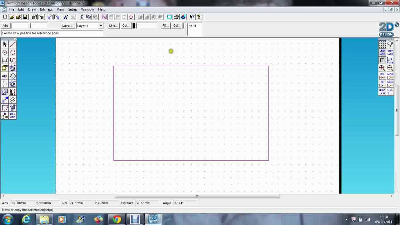Techsoft 2d design using grids youtube for 2d design online