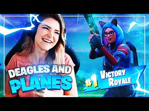 DEAGING PEOPLE FROM A PLANE! ft SpaceLyon, Strafesh0t & Zazzy (Fortnite: Battle Royale)