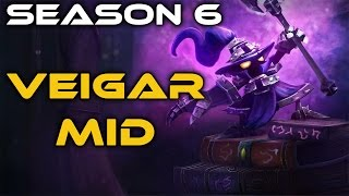 Veigar Mid - Full Gameplay Commentary (League of Legends)