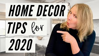 Interior Designer Lisa Holt  | Home Decor Tips For 2020!