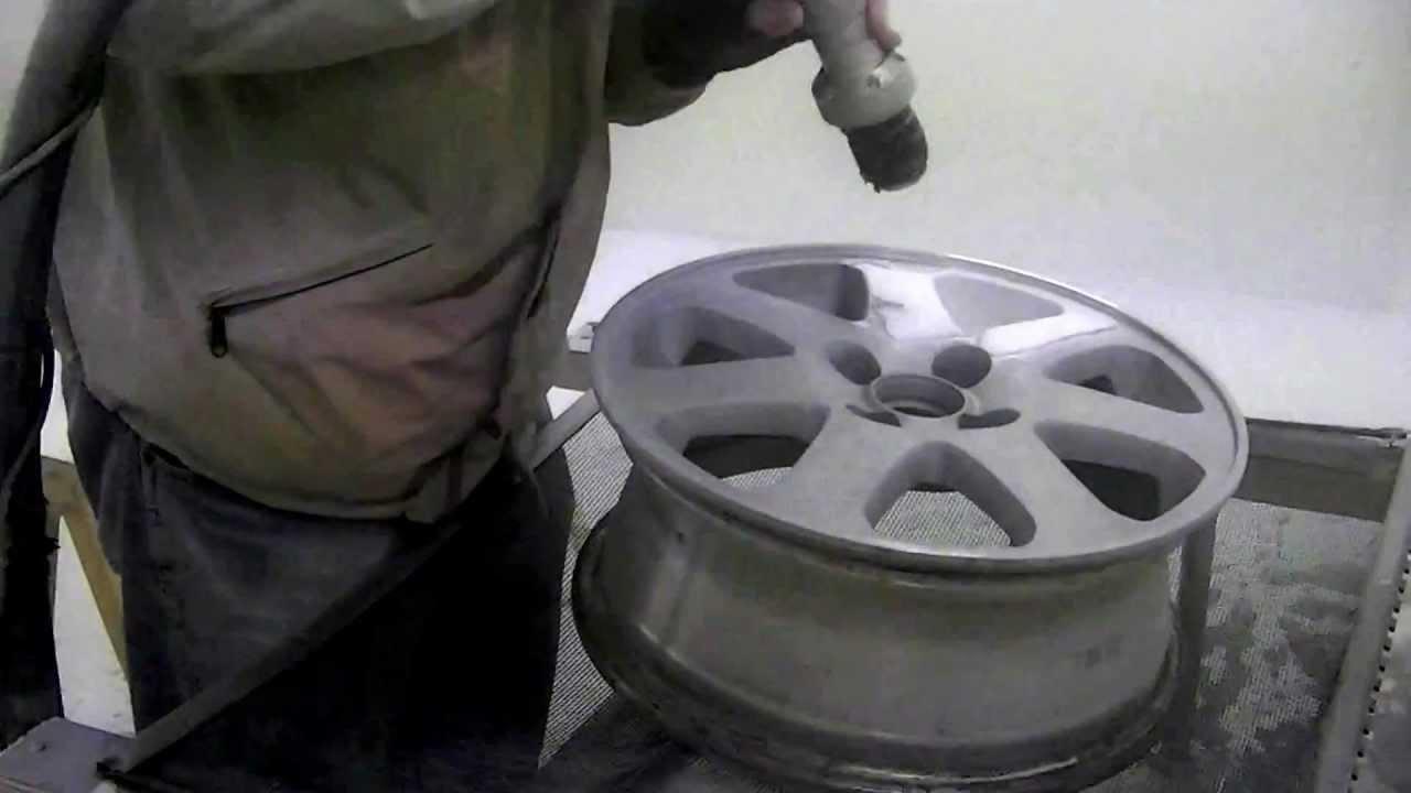 Remove Paint Aluminum Wheel