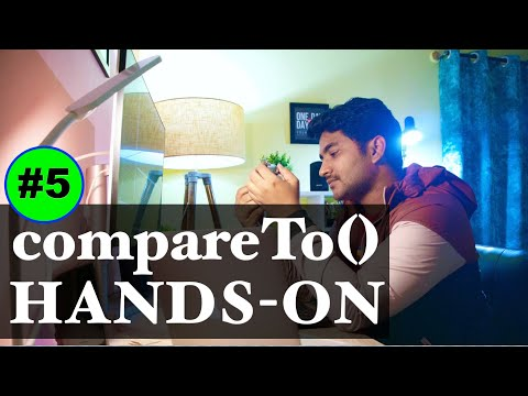 compareTo() hands-on | sorting custom objects in java [LOGIC] | Comparable |#5