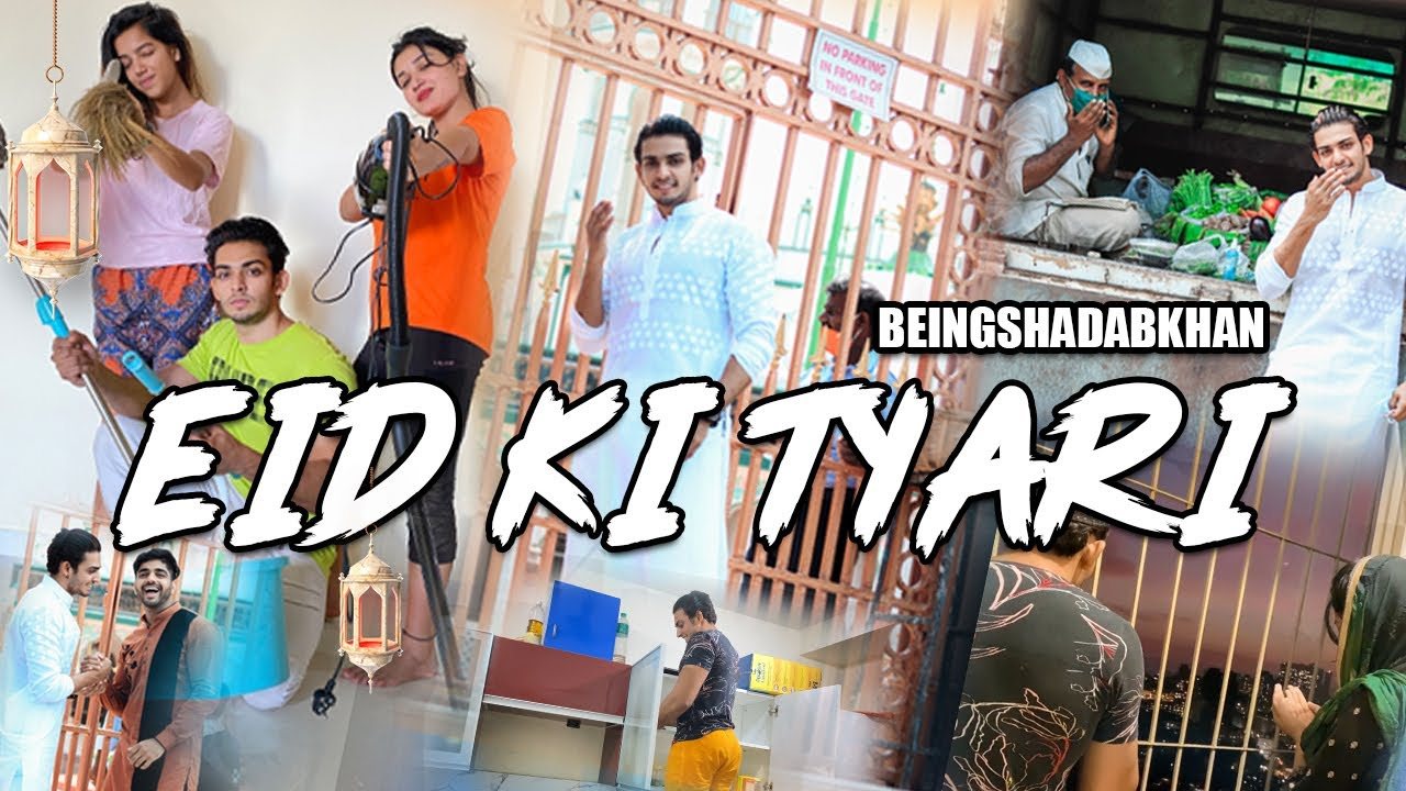 Download EID KI TYARI   Shalini aur Shadab ki Pheli Eid   Beingshadabkhan