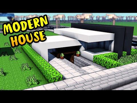 Minecraft Easy Modern House CAREERS NOW OL