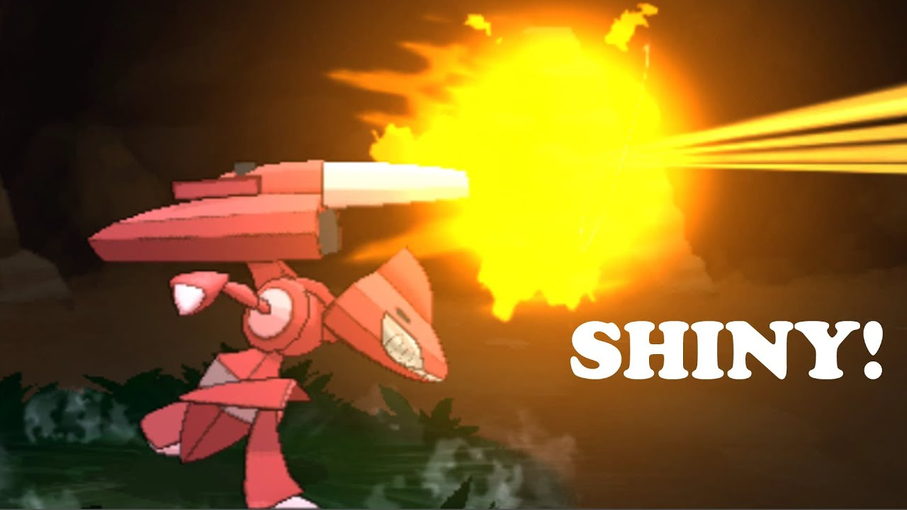 Pokemon X and Y - How To Get The Four Genesect Drives (Shiny ...