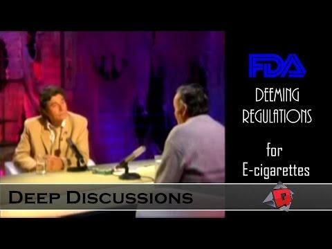 FDA Vaping Regulations: HARDTALK