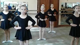 Открытый урок хореографии Донецк 2018 4 класс