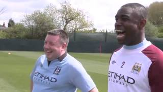 INSIDE CITY 76 Richards and Milner are goalkeepers