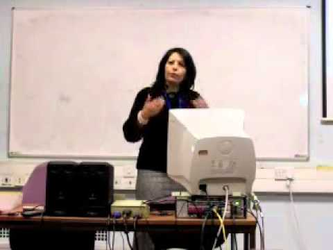 MA lecture to students of translation and interpreting at the University of Manchester
