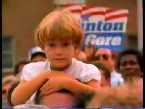 Bill Clinton 1992 Presidential Campaign Commercial - The Change Is Coming