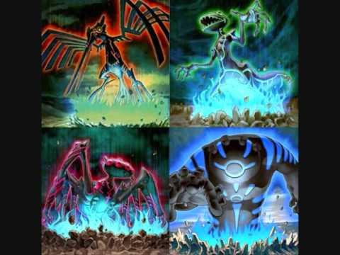 Erdgebundene Monster Yugioh 5ds HQ Earthbound Gods  YouTube