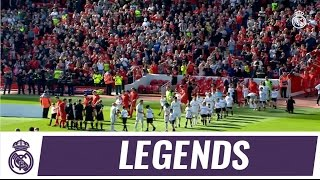 Goals galore as Real Madrid Leyendas took on Liverpool Legends!