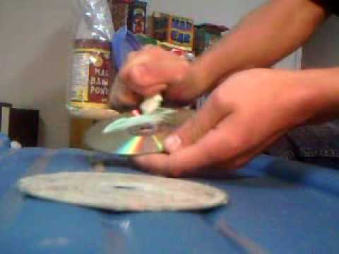 How to clean a game disc