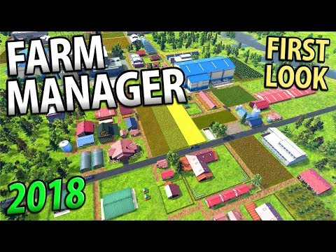 FARM MANAGER 2018 | This Game Is Addictive! Seasons, Management, Economy