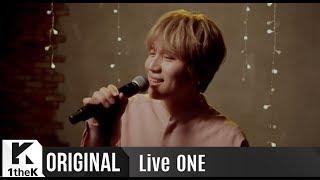 Liveone 라이브원 : K.will 케이윌  _ My Star 너란 별