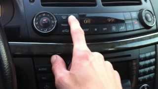 Mercedes E-Class W211 - Hidden Functions