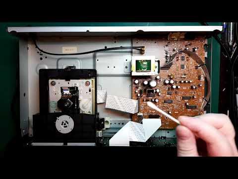 Repair Of A Sony CD Player Model CDP-611 / CDP-D7 - No Disc Error