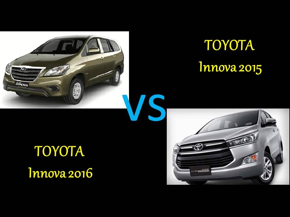 All New Kijang Innova Spec Grand V 2015 Toyota Vs 2016 Comparison Review Features Specs Price Youtube