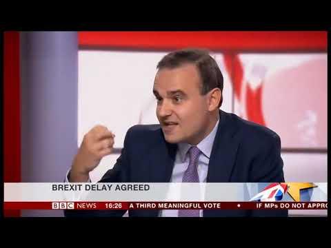 A. Holroyd sur le Brexit - BBC News Channel -  22 mars 2019