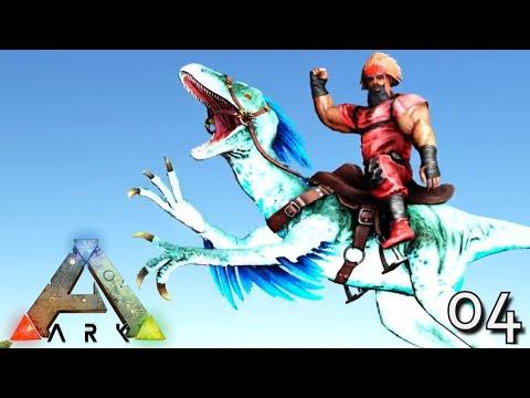 ARK: SURVIVAL EVOLVED - PRIME ALPHA RAPTOR RAMPAGE !!! ARK ETERNAL EBENUS ASTRUM E04