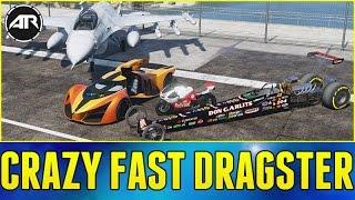 Dragster vs Fighter Jet Speed Test!! - GTA 5 Mods