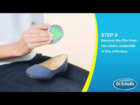 Dr. Scholl's | How To Use Pain Relief Orthotics for Ball of Foot Pain