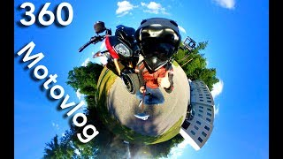 360 Vlog on a Motorcycle?