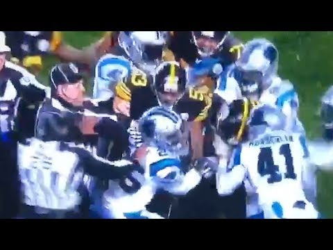 Fight BREAKS OUT After Eric Reid's Dirty Tackle On Ben Roethlisberger! Twitter EXPLODES!