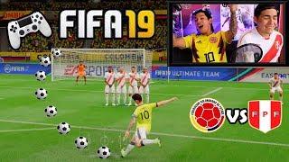Duelo ÉPICO!!! PARTIDO FIFA19 / COPA AMÉRICA ? (Peru vs Colombia)