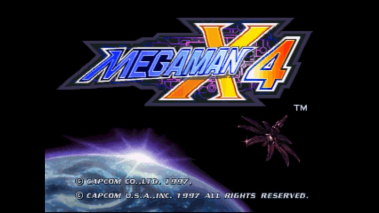 Megaman X4 (Megaman X Collection) #01 - Intro Level - X - YouTube