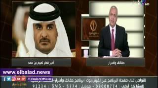 مصطفى بكري: قناة الجزيرة تهدف لتفجير المنطقة العربية من الداخل.. فيديو