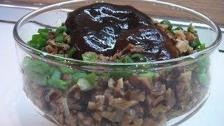 Икра грибная видео рецепт. Книга о вкусной и здоровой пище