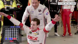 Penske Games: Clutch shots, missed dunks in Basketball Connect Four