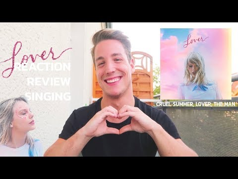 Reaction To CRUEL SUMMER, LOVER And THE MAN By Taylor Swift (Pt.2)