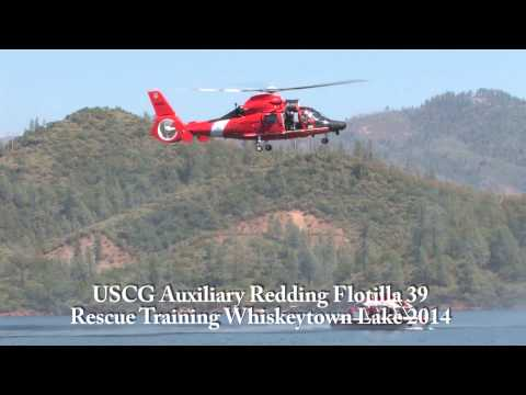 USCG Auxiliary Redding Flotilla 39 Rescue Training Pt1