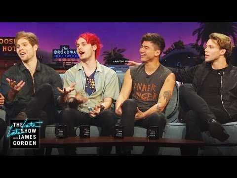 Chatting with 5 Seconds of Summer