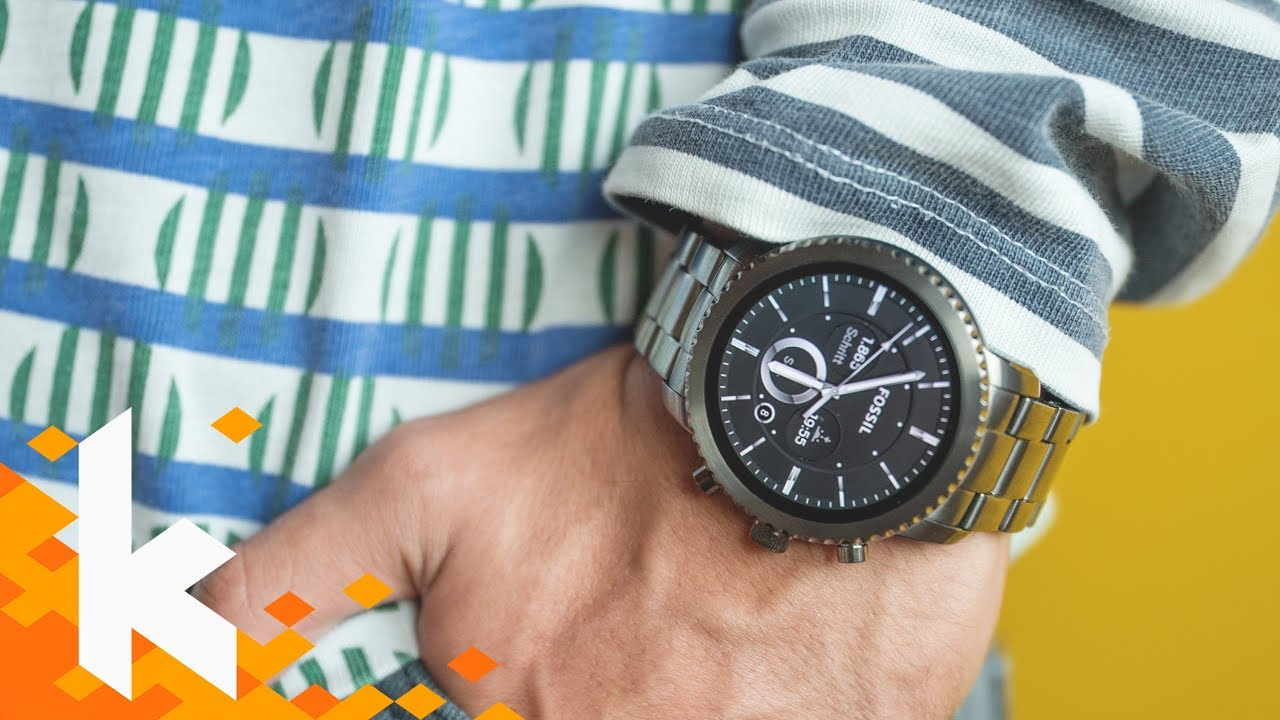 Schönste (& beste) Smartwatch: Fossil Q Explorist Review ...