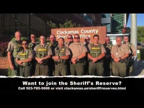 Reserve Scenario Training   (Clackamas County Sheriff's Office)