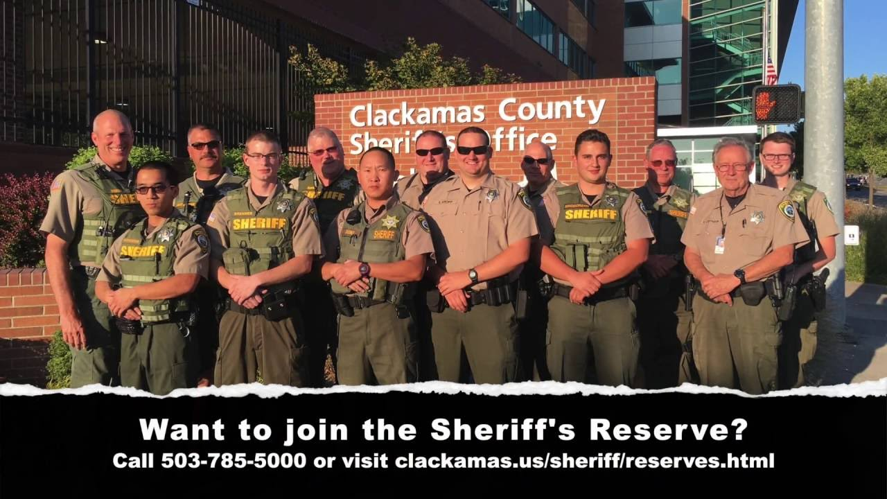 Sheriff's Reserve | Clackamas County